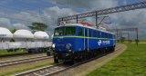 """Standardem w modelach pojazdów kolejowych staje się tworzenie wnętrza widocznego """"z zewnątrz"""", tutaj: lokomotywa 4E (EU07-172) z widoczną kabiną."""
