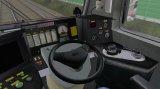Nowa wersja kabiny lokomotywy EP09 - pojawił się elektroniczny prędkościomierz, nowy nastawnik jazdy i nowe udźwiękowienie kabiny.