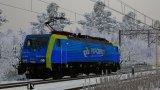 Lokomotywa Siemens Eurosprinter E189.