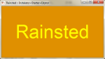 Screen 2: Rainsted (launcher)